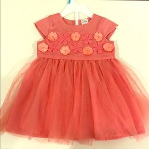 Carter's 6 month coral dress